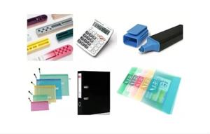 文具、文件夹、荧光笔、马克笔